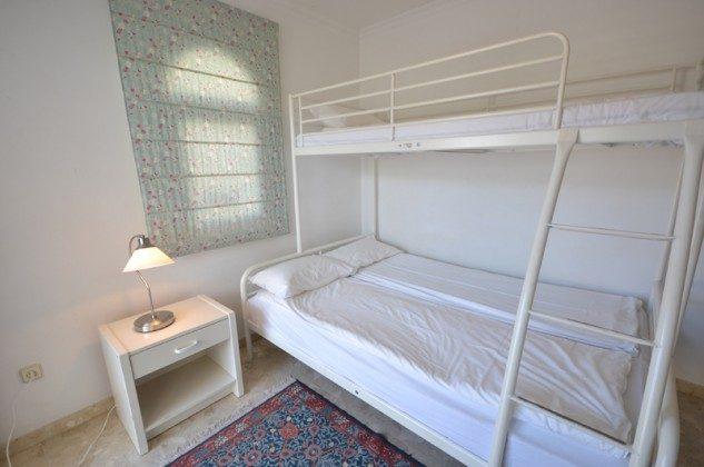 Etagenbett im dritten Schlafzimmer
