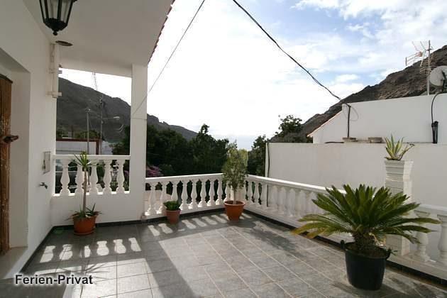 Terrasse am Eingang