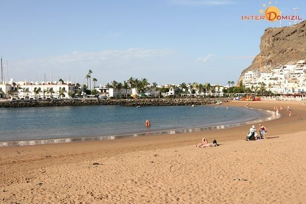 Strand von Puerto de Mogan