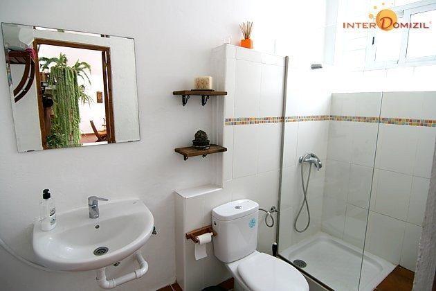 Duschbad des Haupthauses im Untergeschoss