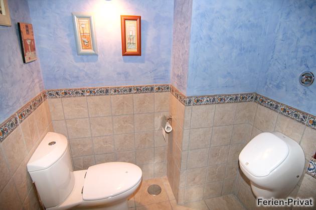 Toilette und Pissoir