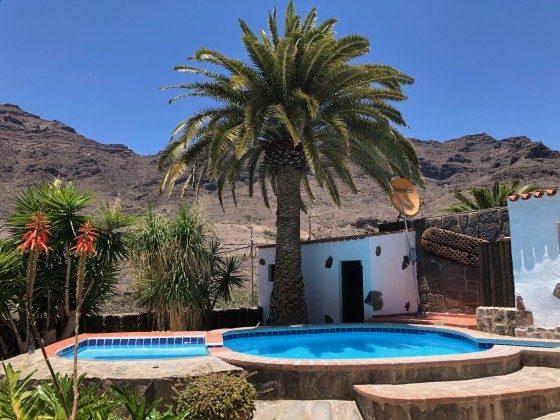Gran Canaria Ferienhaus mit Pool und Whirlpool