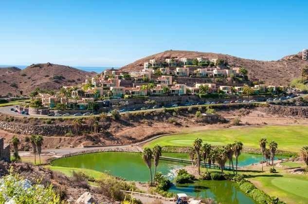 Blick auf das Salobre Golf Resort