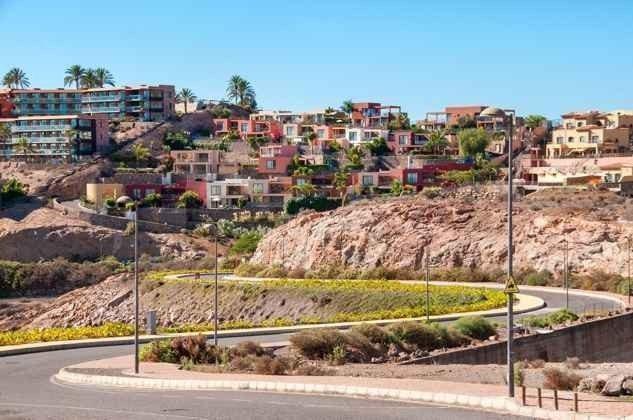Villenanlage Las Terrazas mit Lage am Hang