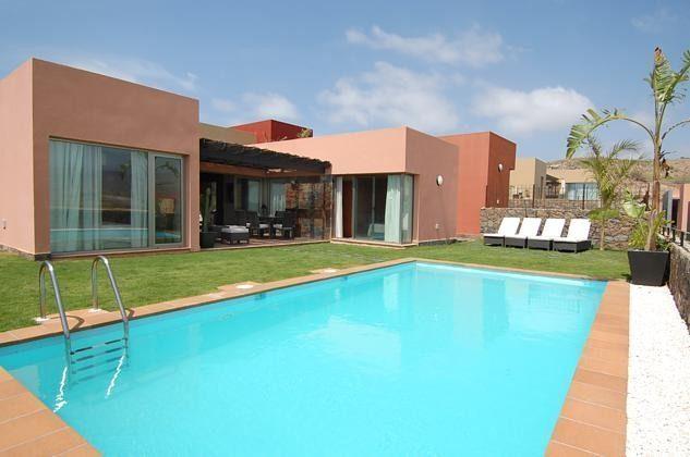 Spanien Kanarische Inseln ebenerdige Villa mit privatem Pool auf Gran Canaria