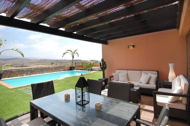 Kanarische Inseln Gran Canaria Villa mit Pool im Salobre Golf Resort