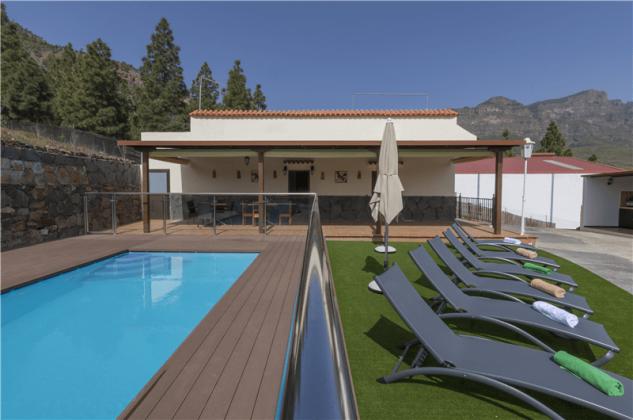 GC 2584-94 Ferienhaus Gran Canaria mit beheiztem Gemeinschaftspool