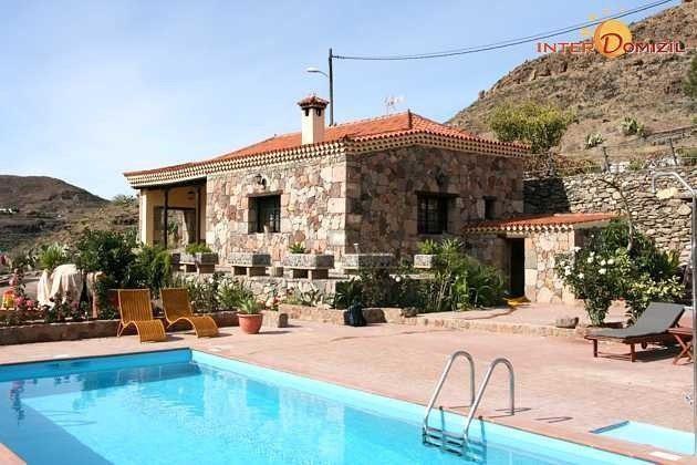 Kanarische Inseln Ferienhaus mit Pool auf Gran Canaria