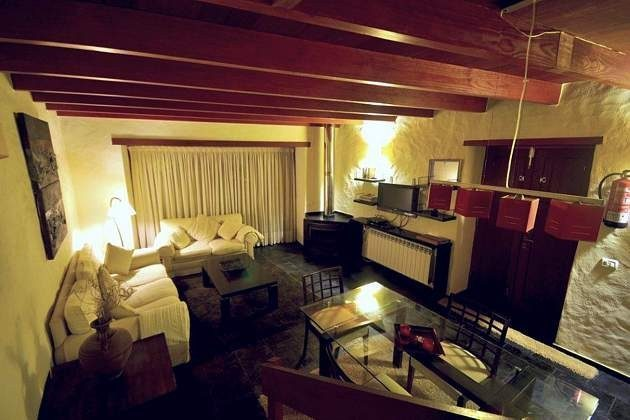 Wohnzimmer abends