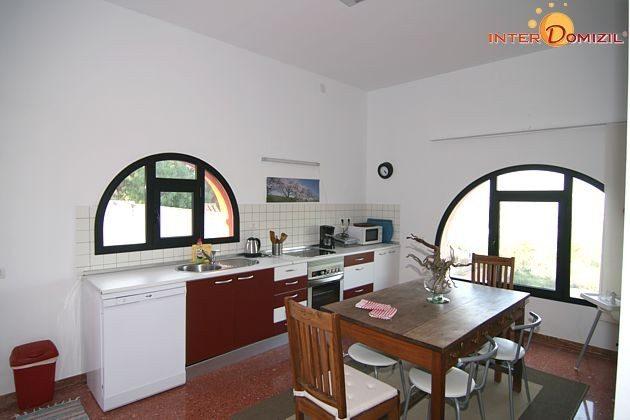 Küche mit Essplatz Haus B