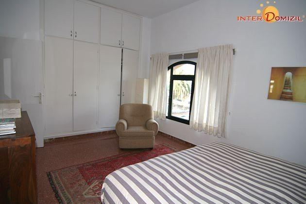 Schlafzimmer mit Doppelbett Haus B