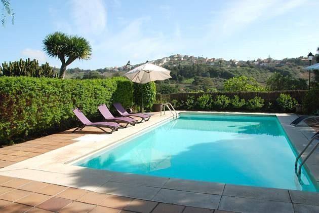 Kanarische Inseln Gran Canaria Ferienhaus mit Pool