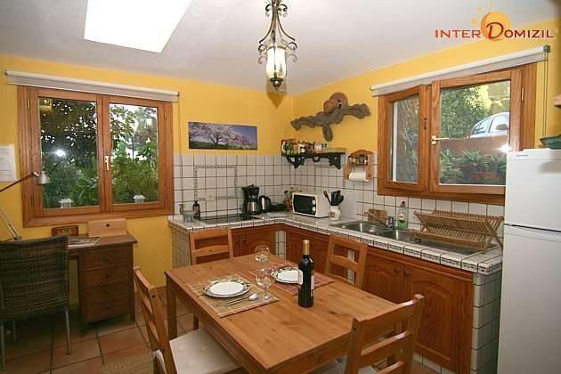 Küche und Essplatz Haus A