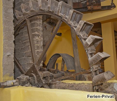 altes Mühlenrad