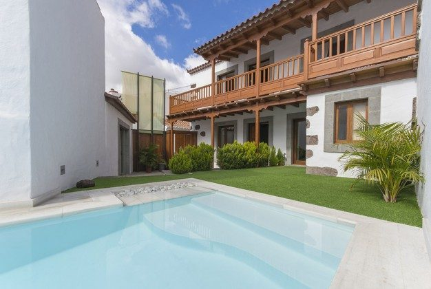 Spanien Kanarische Inseln Ferienhaus Gran Canaria mit Pool