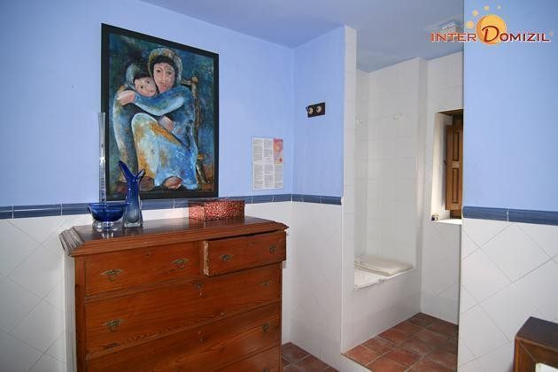 Badezimmer Haus 1 mit Dusche