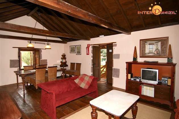 Wohn-/Esszimmer Haus 1 im Obergeschoss