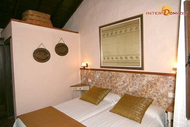 zweites Schlafzimmer Haus 2 mit Badezimmer en-suite