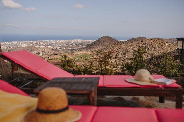 Kanarische Inseln Finca Gran Canaria mit Whirlpool und Meerblick