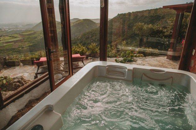 Gran Canaria Ferienhaus mit Whirlpool und Meerblick