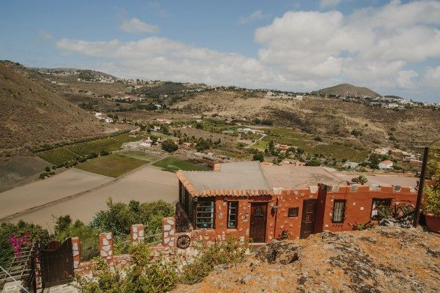 weiteres Haus der Finca und Ausblick