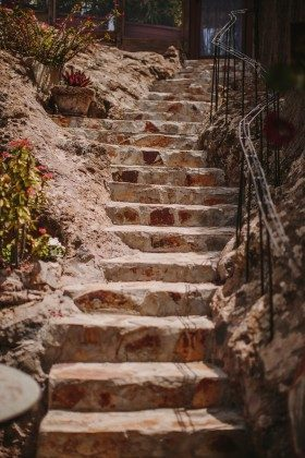 Außentreppe Finca