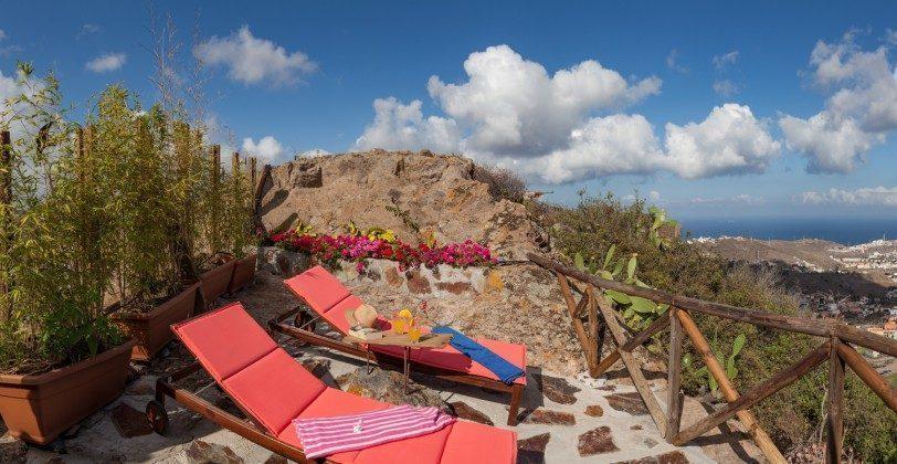 Kanaren Insel Gran Canaria Ferienhaus mit Whirlpool
