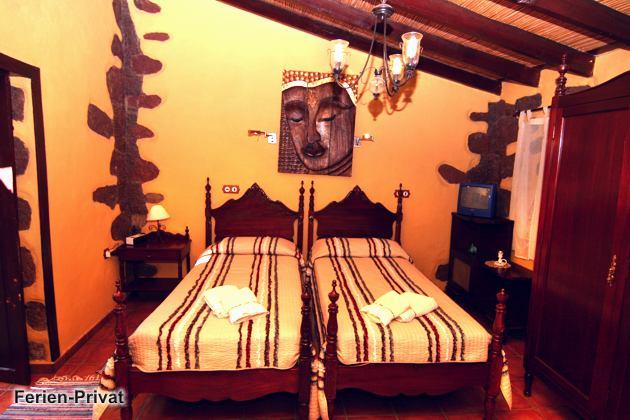 Schlafzimmer im Apartment