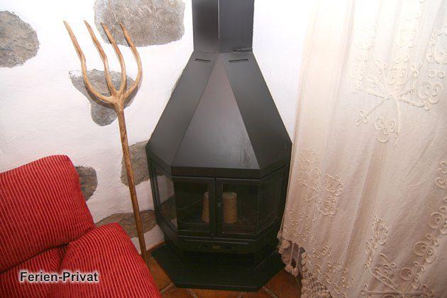 Brennofen im Wohnzimmer