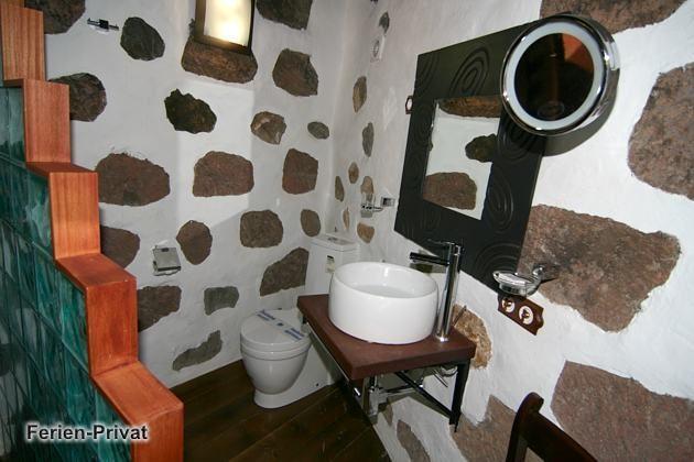 Badezimmer en-suite im Schlafzimmer
