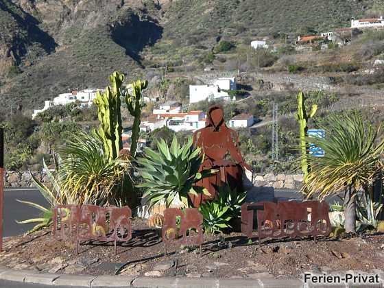 Kreisverkehr - Pueblo de Tejeda