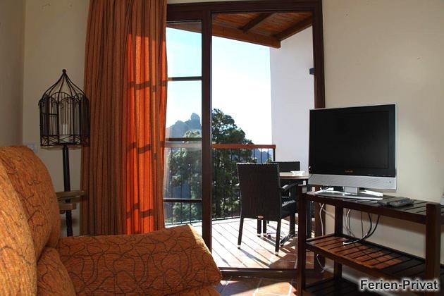Wohnbeispiel Wohnung mit möbliertem Balkon