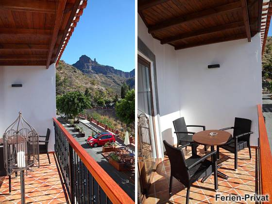 Wohnbeispiel Balkone Apartment A und D