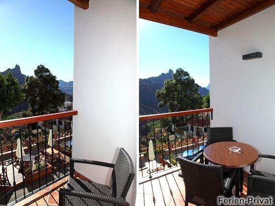 Wohnbeispiel kleiner/großer Balkon