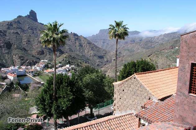 Ausblick auf das Tal von Tejeda