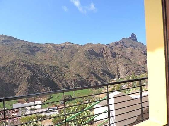 Kanaren Gran Canaria Wohnung mit Blick auf die Berge in Tejeda