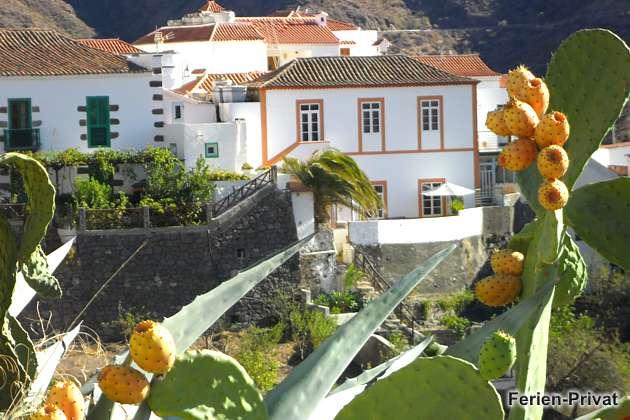 Gran Canaria Ferienhaus in Tejeda mit Blick auf die Berge