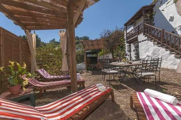 Ferienhaus Gran Canaria GC 2584-18 Garten mit Sonnenliegen