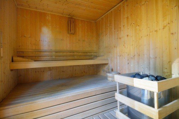 gemeinschaftlich nutzbar: Sauna gegen Gebühr