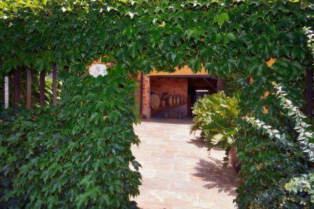 Eingang zum Innenhof des Hauses