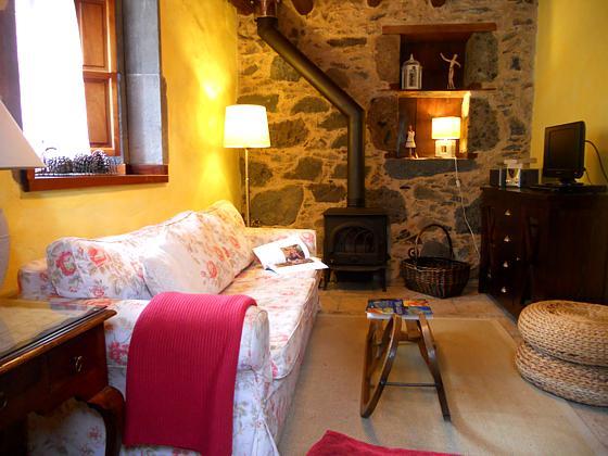 GC 27219-1 Wohnzimmer mit Holzofen