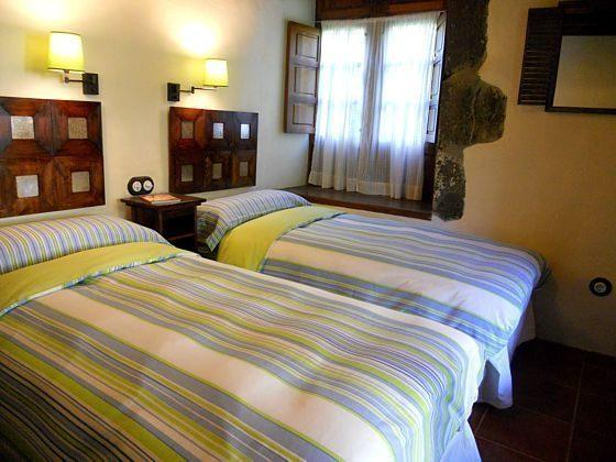 Schlafzimmer mit Einzelbetten Landhaus GC 27219-2