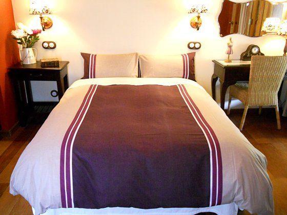 Schlafzimmer mit Doppelbett Landhaus GC 27219-2