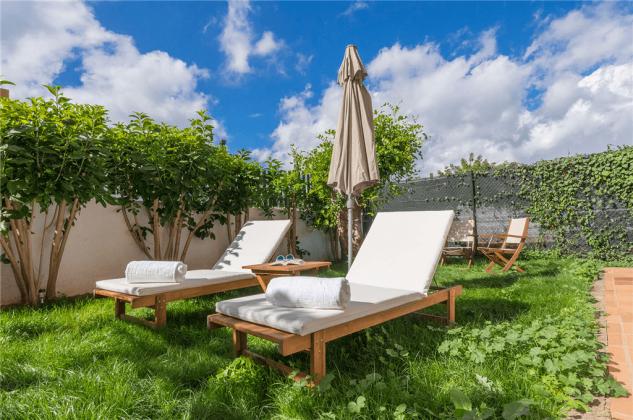 GC 2584-89 kleiner Garten zum Sonnenbaden