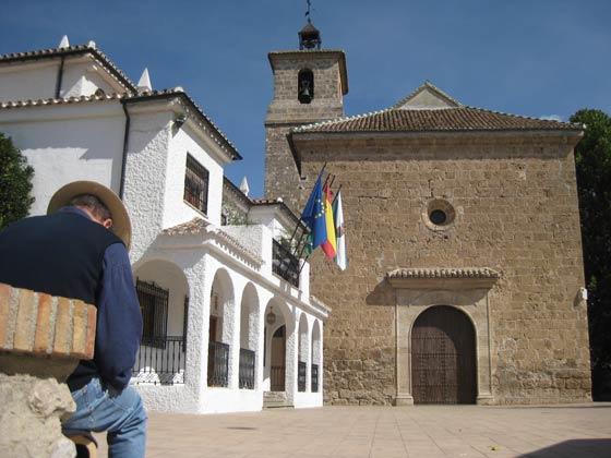 Kirche und Rathaus Alfacar Granada Ferienwohnung 108565-2
