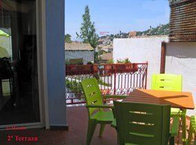 Granada Ferienwohnung Terrasse