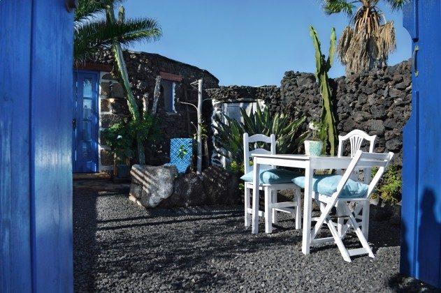 Kanarische Inseln Lanzarote Finca mit Garten