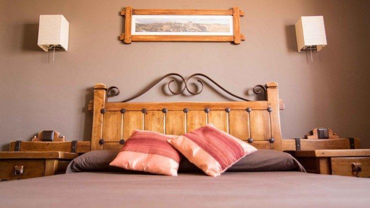 Schlafzimmer Chocolate Gálvez Ferienhaus Ref. 163893-1
