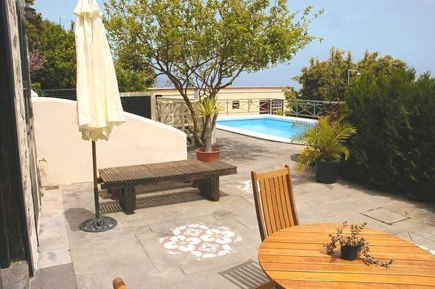 Ferienwohnung La Palma mit Garten