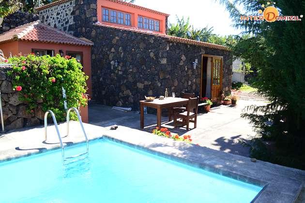 La Palma Kanarische Inseln Finca mit Pool